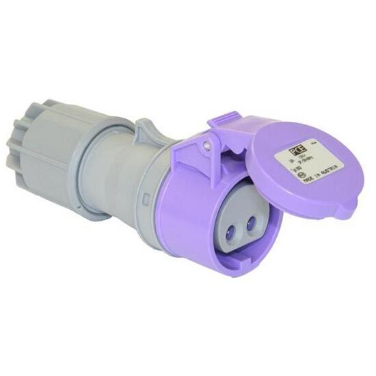 Gniazdo przenośne 24V IP44 16A 24V/~50-60Hz 2P PCE