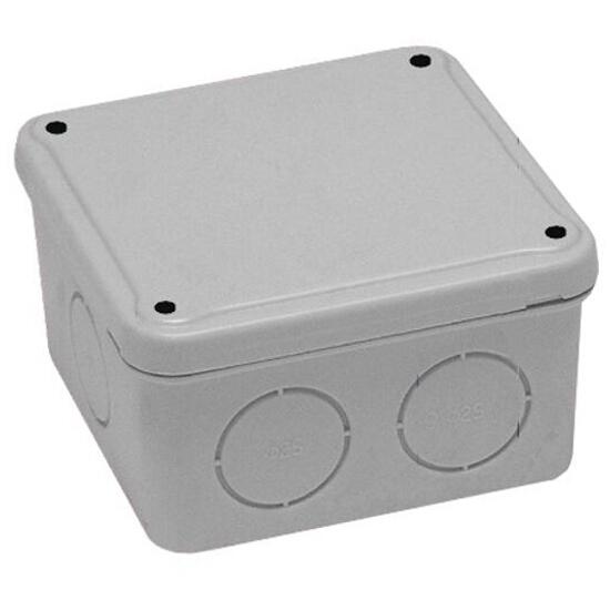 Puszka instalacyjna z osłabieniami IP44 80x80x40 PCE
