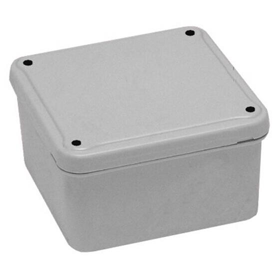 Puszka instalacyjna gładka IP44 80x80x40 PCE