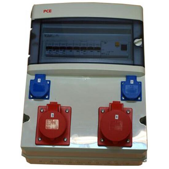 Star Rozdzielnia wyposażona 6M wej.PG16, wyj.2x16/5 2xGS bez zabezpieczeń PCE