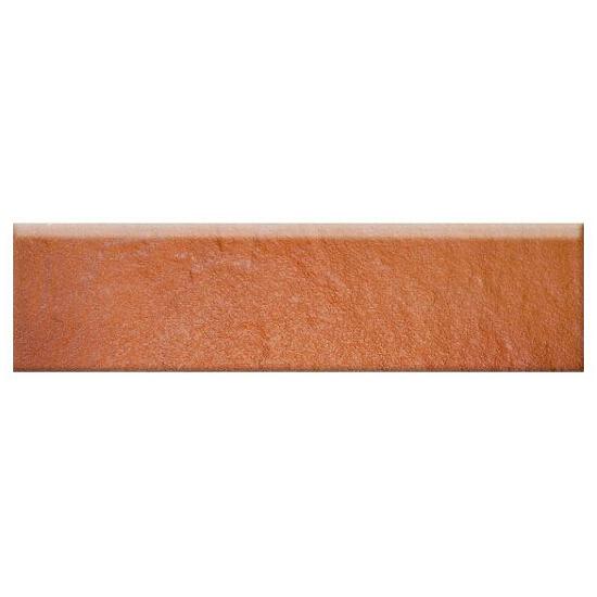 Klinkier Solar orange cokół 3-d 30x8