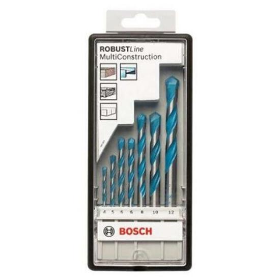 Zestaw wierteł mieszanych ROBUST MULTI CONSTRUCTION 7szt. 2607010543 Bosch