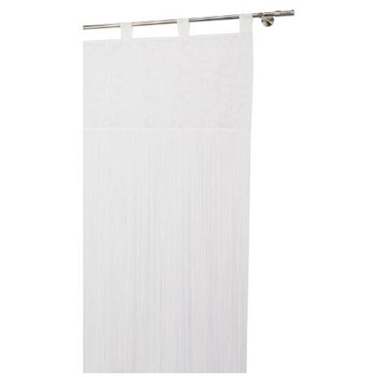 Firana sznurkowa makaron arabeska biały 160x250 Mardom