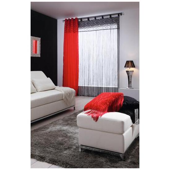 Zasłona arabeska 145x250 cm czerwony Mardom