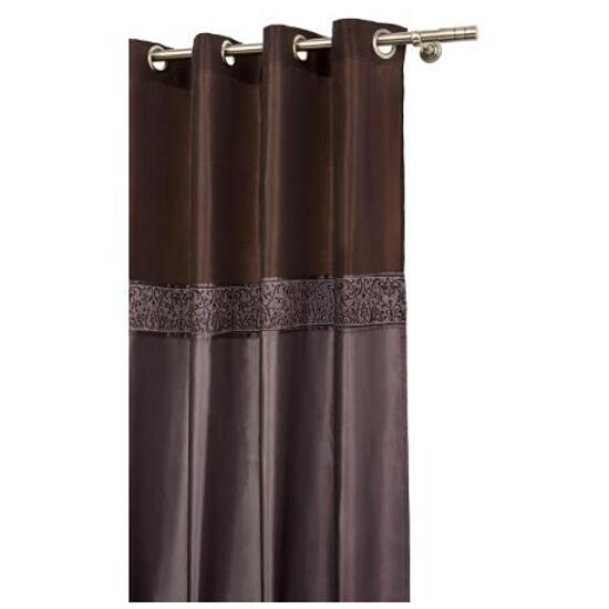 Zasłona milano 140x250cm czekoladowo-brązowy Mardom