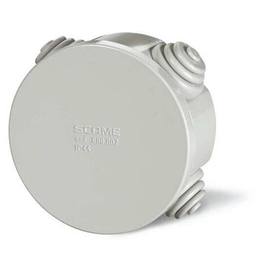 Puszka instalacyjna CUBIK fi 80x40 mm 650°C Scame