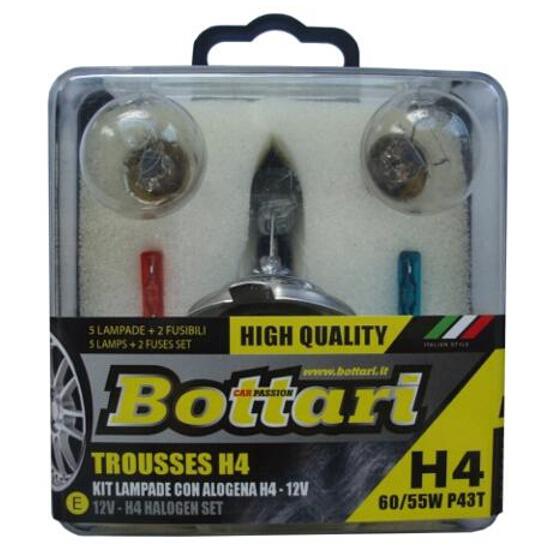 Zestaw żarówek z żarówką halogenową H4 Bottari