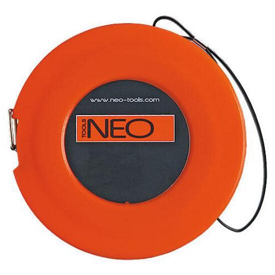 Taśma miernicza stalowa 30m 68-130 Neo
