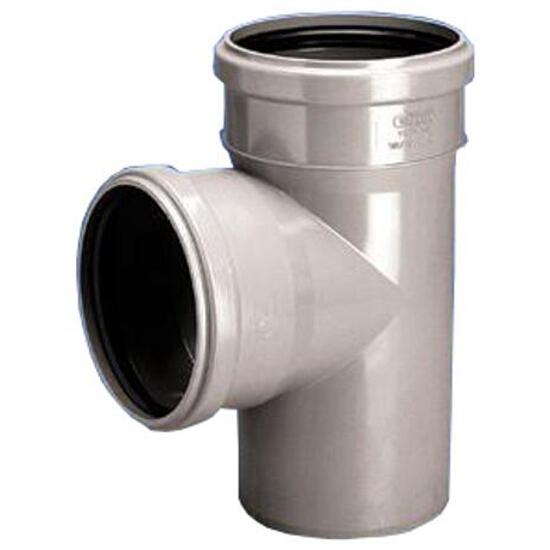 Trójnik kanalizacyjny PP wew. HT 75x50x88° redukcyjny popiel Wavin