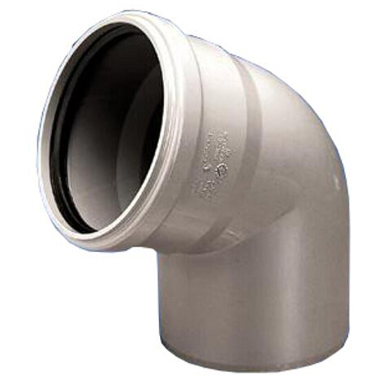 Kolano kanalizacyjne PP wew. 32x87° białe Wavin