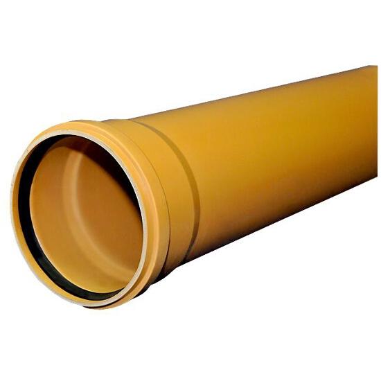 Rura kanalizacyjna zewnętrzna PVC KL.S 200x5.9x3000 Wavin