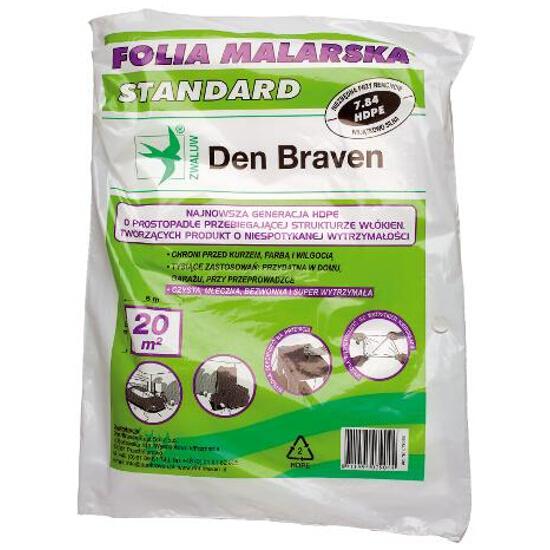 Folia malarska standard 4mx5m Den Braven