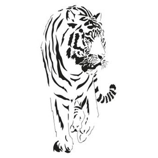 Naklejka dekoracyjna tiger Decostickers 10 PRIMACOL