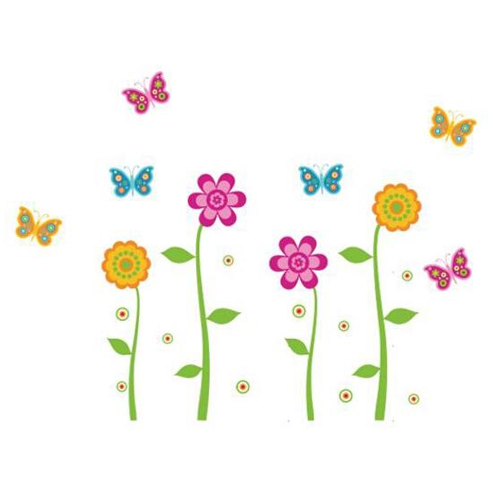 Naklejka dekoracyjna Butterflies Decostickers 18 PRIMACOL