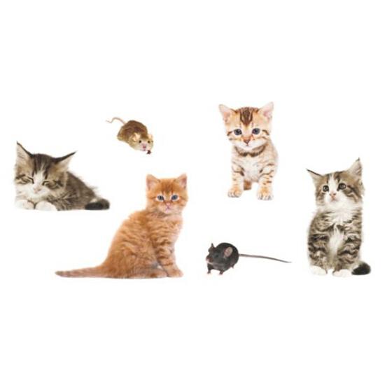 Naklejka dekoracyjna cats Decostickers 6 PRIMACOL