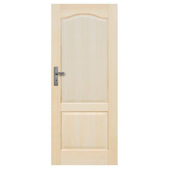 Drzwi sosnowe Tryplet pełne 80 lewe Radex