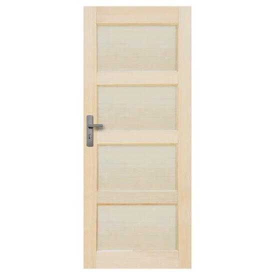 Drzwi sosnowe Obsydian pełne 60 prawe Radex