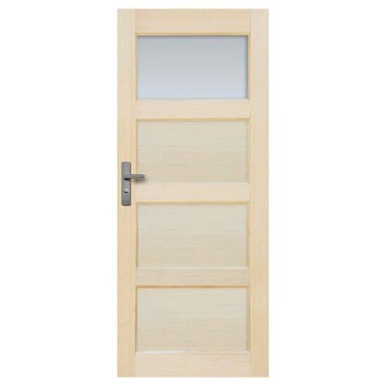 Drzwi sosnowe Obsydian przeszklone (1 szyba) 60 lewe Radex