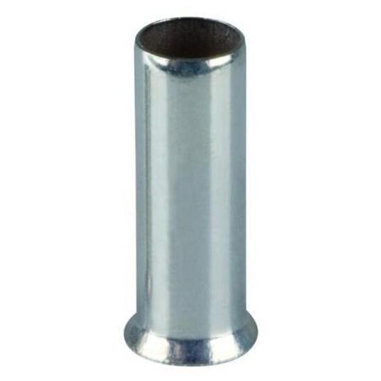 Końcówka kablowa igiełkowa tulejkowa nieizolowana TA 0,75-14 100szt kablowa Erko
