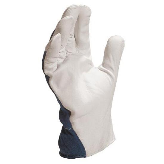 Rękawice wzmacniane z koziej skóry licowej CT402BL rozm. 8 Venitex