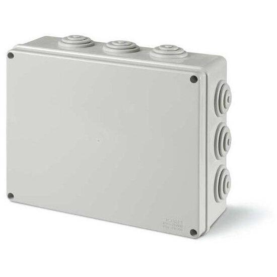 Puszka instalacyjna SCABOX 300x220x120 mm, dławica IP55 Scame