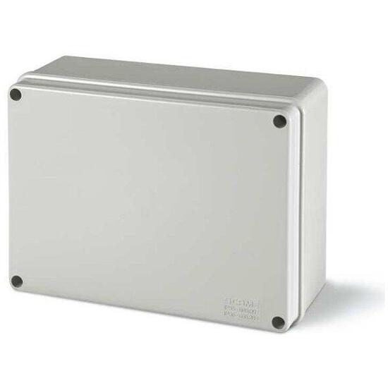Puszka instalacyjna SCABOX 240x190x90 mm, dławica IP56 Scame