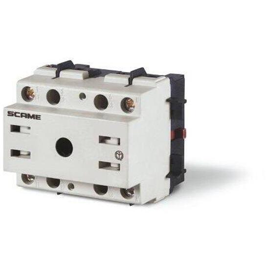 Łącznik krzywkowy bez obudowy MANOVRA 32A 4P montaż na panelu Scame