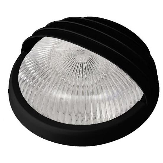 Plafon przemysłowy hermetyczny LUNA z przesłoną -N 1x75W E27 czarny Lena Lighting