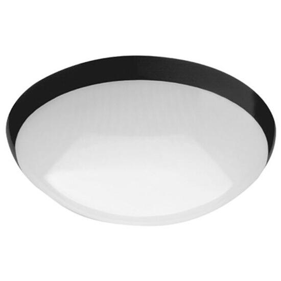 Plafon przemysłowy hermetyczny CAMEA 1x21W TC-DD/GR10q czarny klosz matowy Lena Lighting