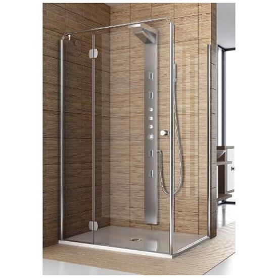 Drzwi prysznicowe SOL DE LUXE 80 lewe 103-06050 Aquaform