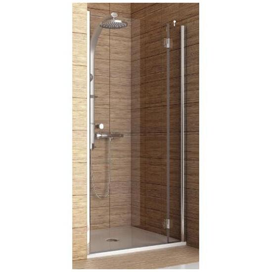 Drzwi prysznicowe SOL DE LUXE 90 wnękowe prawe 06063 103-06063 Aquaform