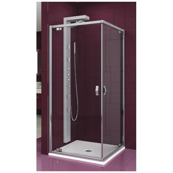 Kabina prysznicowa kwadratowa SALGADO 90 profil chrom, szkło przejrzyste 101-06073 Aquaform