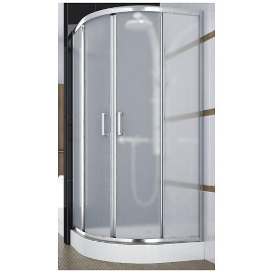 Kabina prysznicowa półokrągła BORNEO 80 100-06231 Aquaform