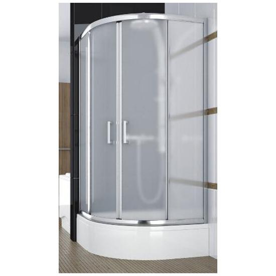 Kabina prysznicowa półokrągła BORNEO 80 100-06233 Aquaform