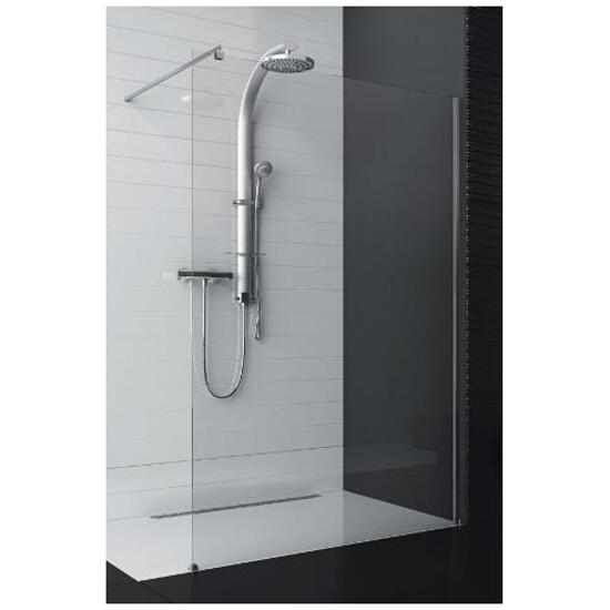 """Kabina prysznicowa otwarta """"walk-in"""" SOUL z profilem 103-010101 Aquaform"""