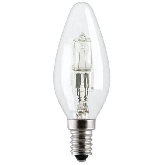 Żarówka halogenowa Energy Efficent HaloCandle 42W E27 42W HALO C/CL/E27 230V 76573 GE Lighting