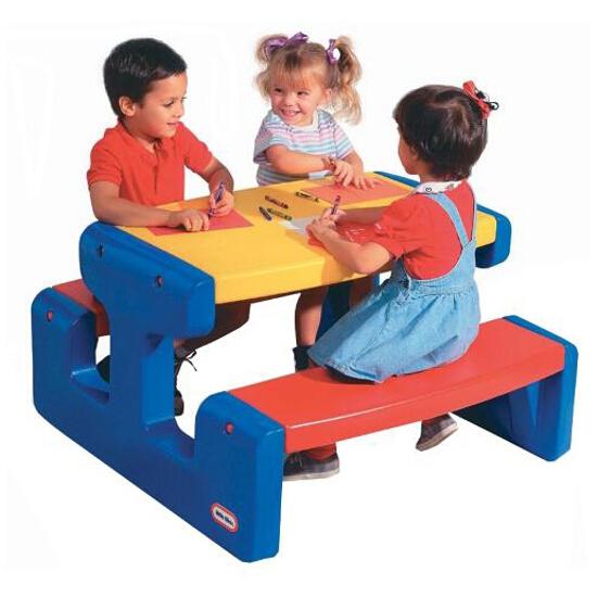 Stolik dziecięcy piknikowy duży naturalny 466800060 Little Tikes