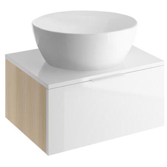 Szafka podumywalkowa LAREDO 80 pod umywalkę CASPIA RING S300-003