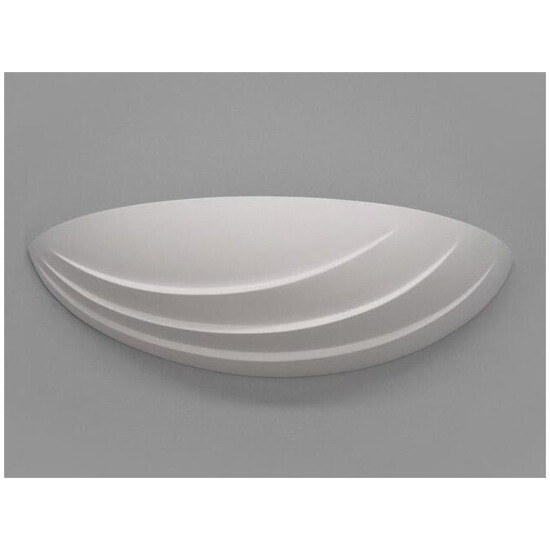 Kinkiet ŁÓDKA mała fala biały 6320 Cleoni
