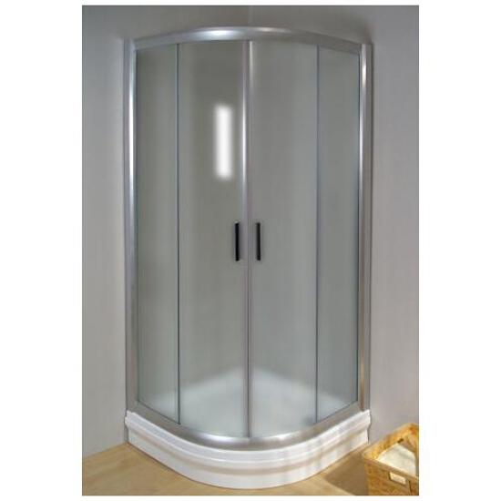 Kabina prysznicowa półokrągła RAPIER NRKCP4-90 profil satyna, szkło grape 3L370U00YG Ravak