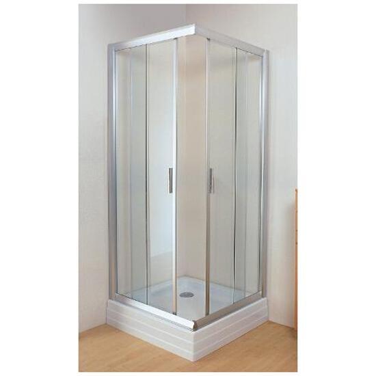 Kabina prysznicowa kwadratowa RAPIER NRKRV2-80 szkło transparentne 1AN40U00Z1 Ravak