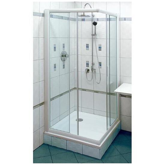 Kabina prysznicowa kwadratowa RAPIER NRKRV2-90 szkło transparentne 1AN70100Z1 Ravak