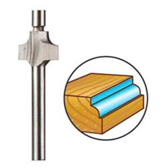 Frez profilowy półokrągły do drewna 9,5mm /hss/ Dremel