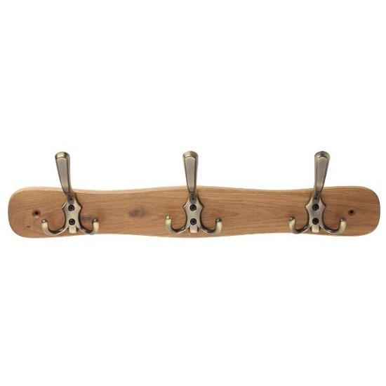 Wieszak meblowy drewniany mosiądz antyczny WD28-59-G00AB-SU Gamet