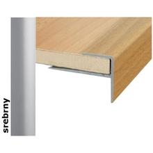 Listwa schodowa Effect Standard A60 srebro 180cm Effector