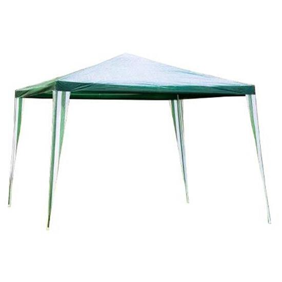Pawilon ogrodowy PE biało-zielony Ołer