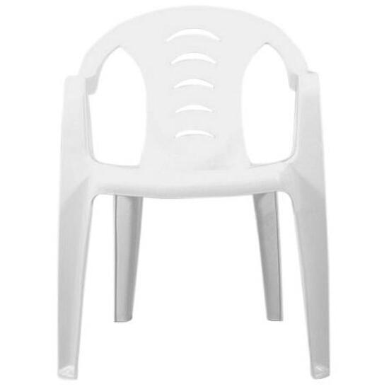 Krzesło ogrodowe Mikita białe Ołer