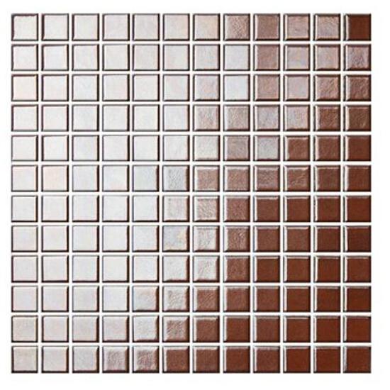 Mozaika Palette brązowo-złota 30x30