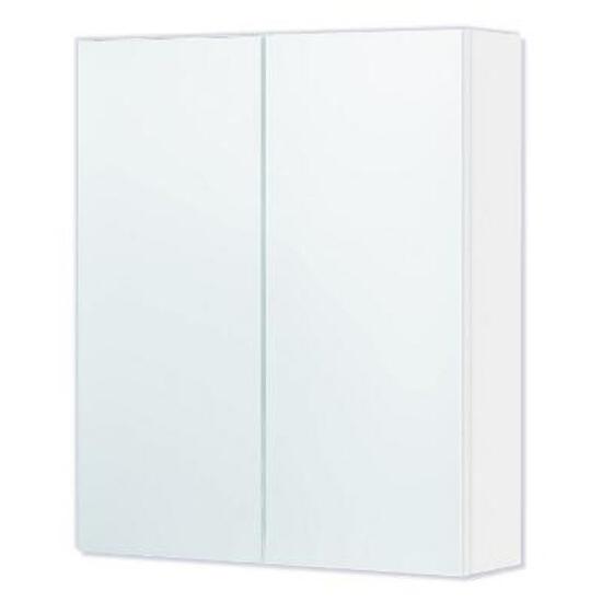 Szafka łazienkowa wisząca z lustrem DALLAS 50 biała 0408-530107 Aquaform