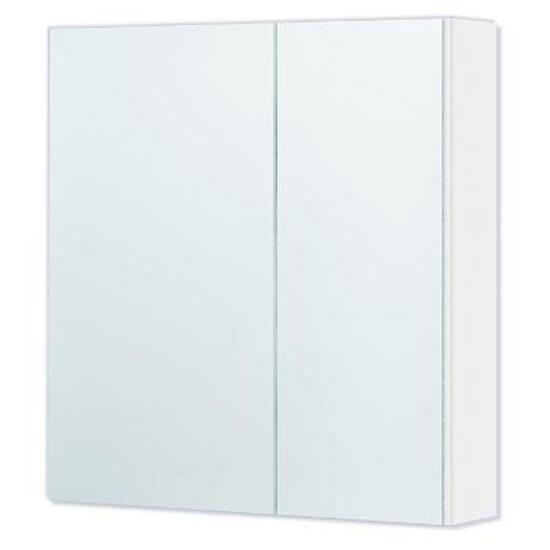 Szafka łazienkowa wisząca z lustrem DALLAS 55 biała 0408-530115 Aquaform